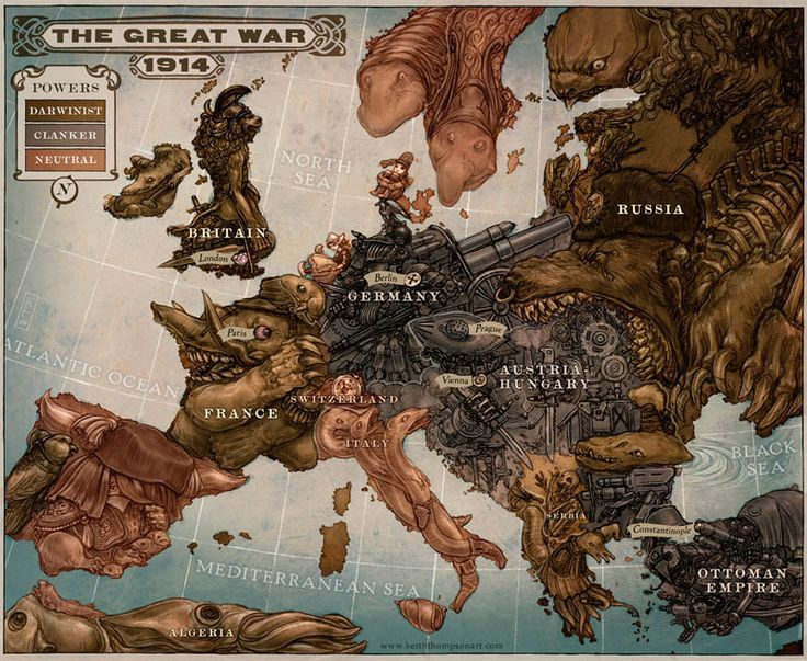 Cartes satiriques à travers l'histoire carte satire map caricature 03 information histoire featured carte information