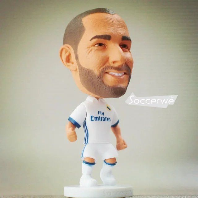 Soccerwe Spain European Soccer Star Lovely Action Figures Toys Fans Collection Football Dolls Gift Cronaldo Benzema James Ramos