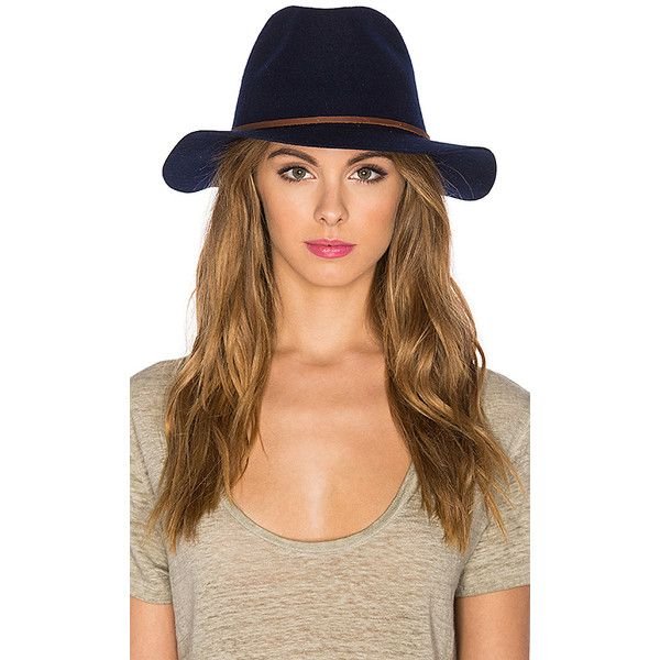 Brixton Wesley Fedora Accessories ($57) ❤ liked on Polyvore featuring accessories, hats, brixton hats, brixton, wool hat, wool fedora and wool fedora hat