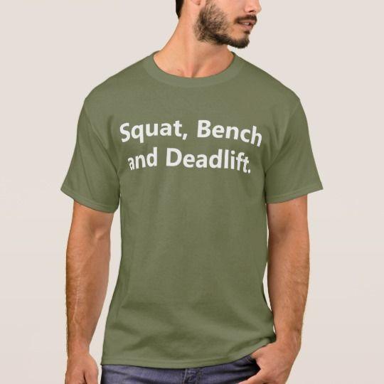 Powerlifting Shirt - The Big 3