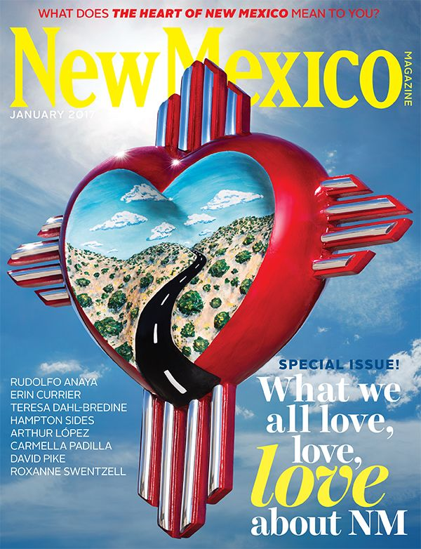 January 2017 Cover | The Heart of New Mexico