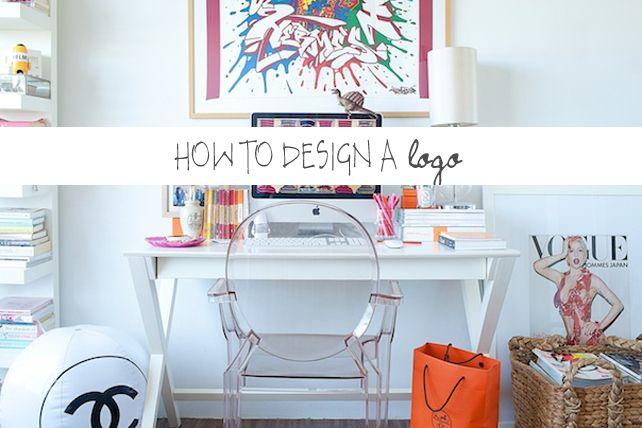 How to Design a Logo // lesleymyrick.com