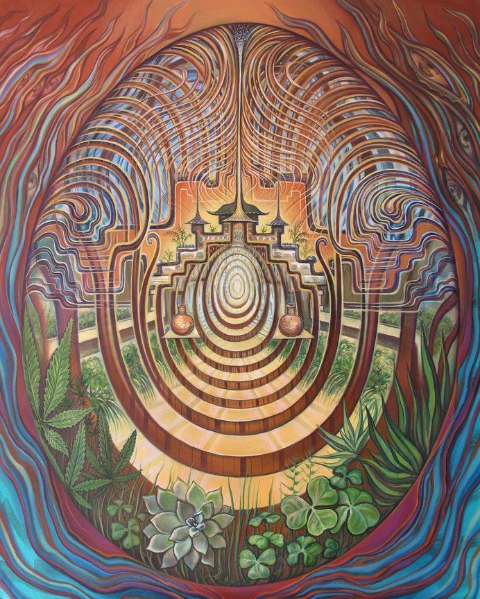 Labyrinth - Gateway to the Emerald Kingdom by Amanda Sage
