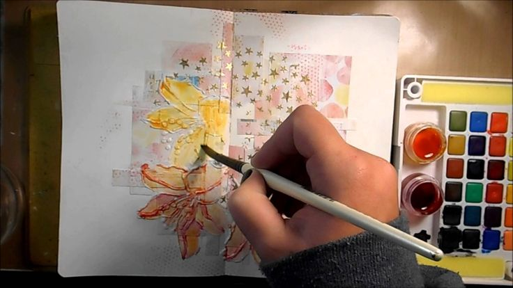Mixed Media Art Journal Page #18