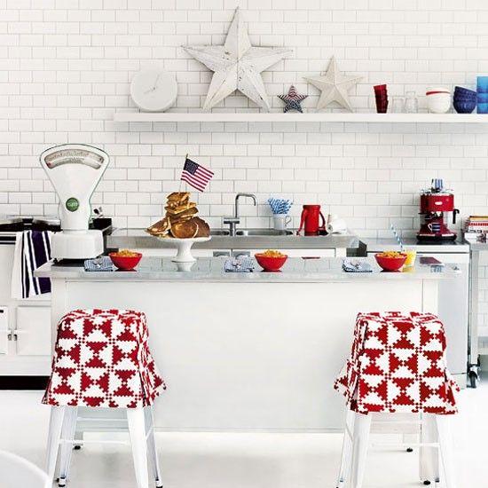American-style kitchen | Bar stool | Modern kitchen idea | Image | Housetohome