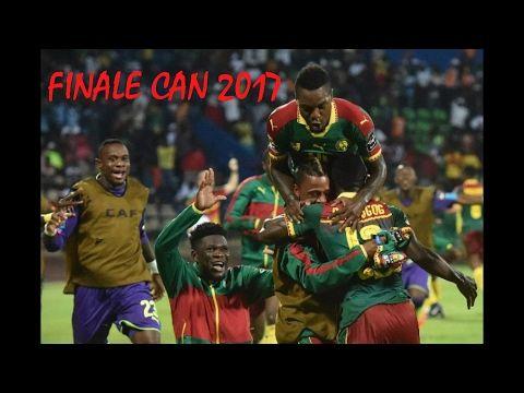Finale CAN 2017 - Egypte 1-2 Cameroun - LE BUT QUI DONNE LA VICTOIRE DE ...