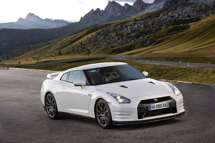 "2012 Nissan GT-R - The styling is a bit ""Godzilla"" but I don't care. :)"