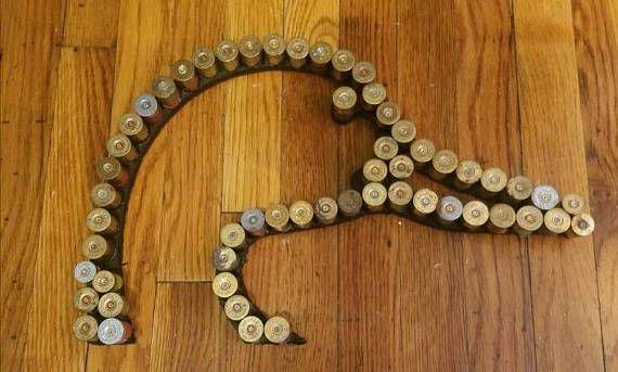 Duck hunting Recycled shotgun shell man cave bullet art