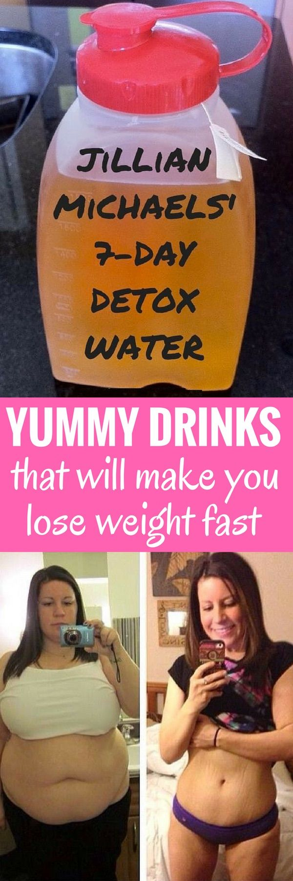 8 really delicious drinks - that will also make you lose weight fast