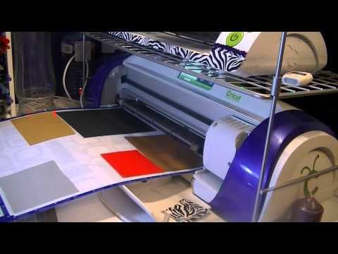 Cutting Layers using Cricut Craft Room and Expression 2 - YouTube