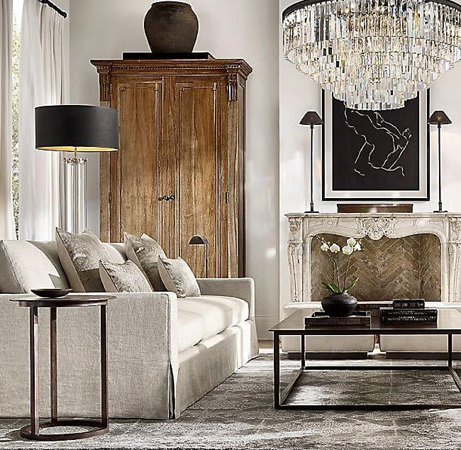 Decoration On Instagram Do You Want To Transform Your Living Room Visit Our Online Shop Link In 2020 Elegant Living Room Decor Living Room Designs Round Side Table