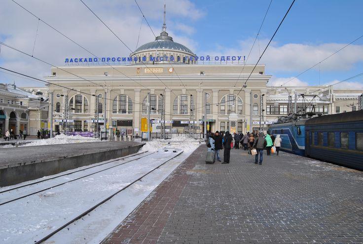 Frozen Odessa, Ukraine 2014