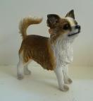 Nu 11,95 euro Hondenbeeldjes Chihuahua lang haar
