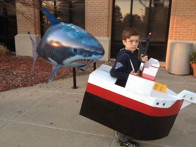 Funny pictures about Jaws Halloween costume. Oh and cool pics about Jaws Halloween costume. Also Jaws Halloween costume.  sc 1 st  Pinterest & 21 best Halloween costumes images on Pinterest | Carnival Halloween ...