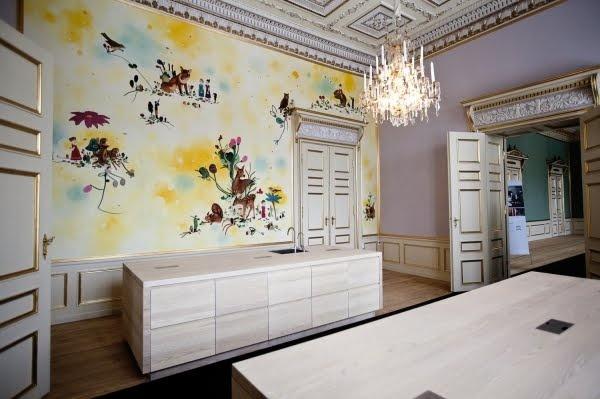 Amalienborg Slott, Frederik 8. Palæ, Kjøkken