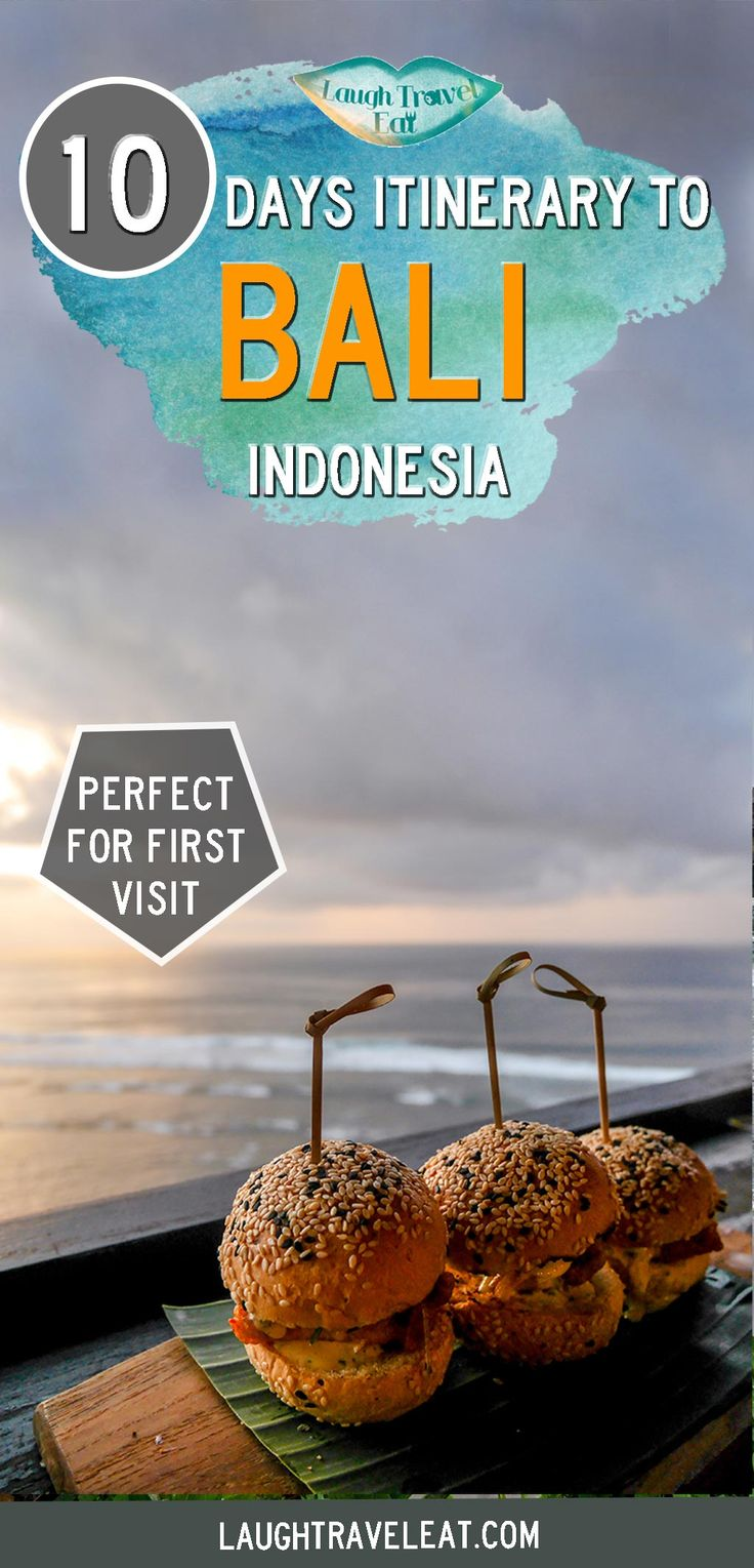 Bali is a top tourist destination but it isn't as small as you'd think. Here's a perfect 10 day itinerary for the active first time visitor: