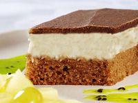 Snadný recept na míša řezy: tvaroh, piškot, čokoláda