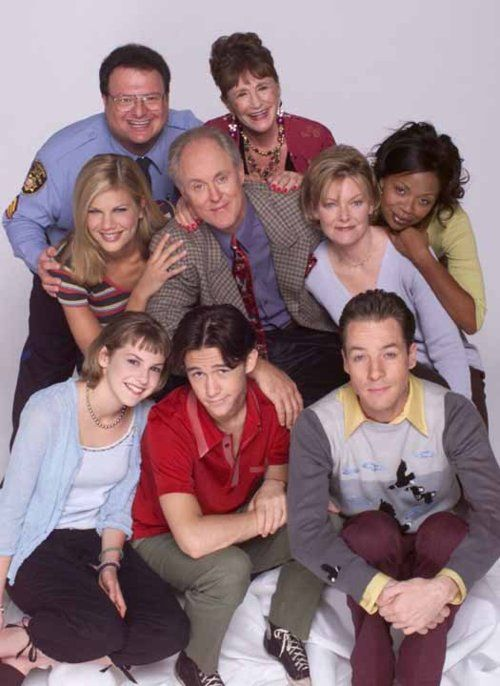 """""""3rd Rock from the Sun"""" cast"""
