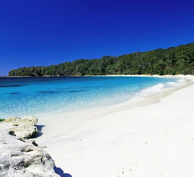 """Boasting the whitest sand - Jervis Bay NSW. Haven't been there (yet!) but it, or somewhere like this, is on my """"must see"""" list."""