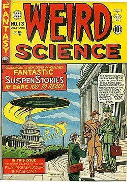 Weird Science (comics) - Wikipedia, the free encyclopedia