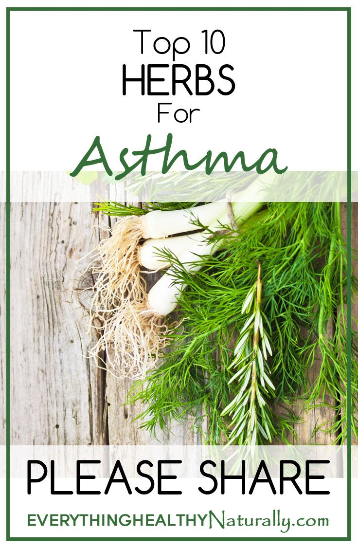 Top 10 Herbs For Asthma