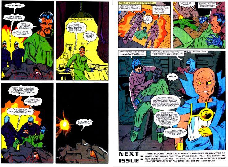 What If Doom Became Sorceror Supreme (What If? Volume 2 #52) : Marvel