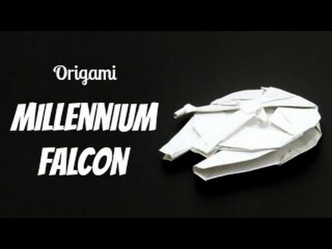 Support the origami channel for more cool creations at Patreon: www.patreon.com/tadashimori Facebook: www.facebook.com/tadashiorigami Origami Millennium Falc...