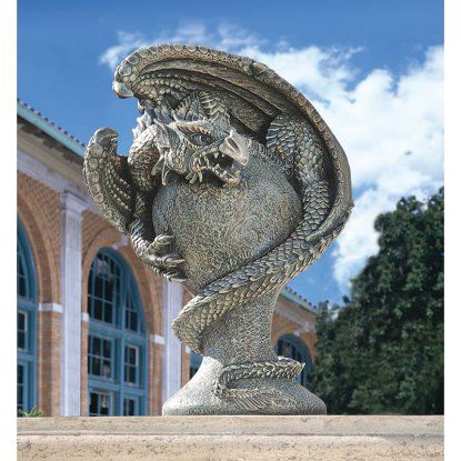 Design Toscano Mystic Dragon Avenger Statue