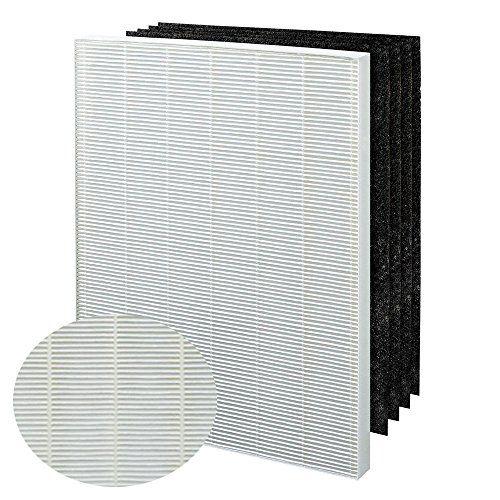 True HEPA Plus 4 Replacement Filter for Winix 115115 PlasmaWave Air Purifier 5300 6300 5300-2 6300-2 P300 C535 & Fellowes Aeramax 290…