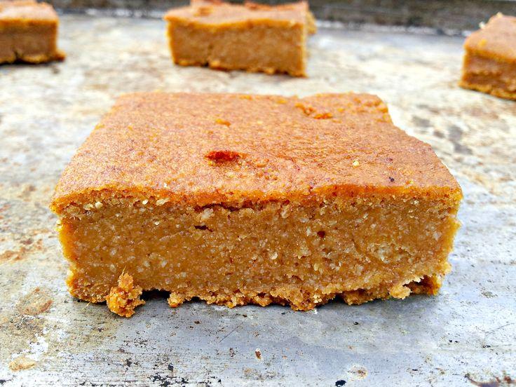GF/Paleo Pumpkin Pie Bars (Vegan and Grain-Free)