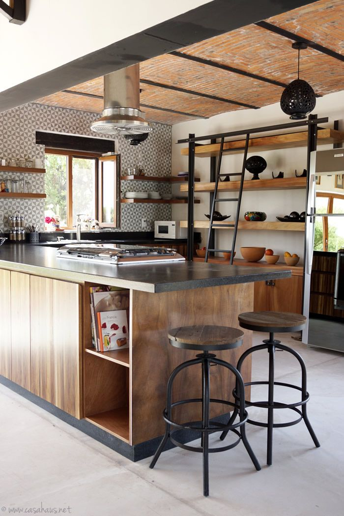 Best 20+ Rustic Industrial Kitchens Ideas On Pinterest—no