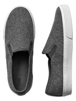 Wool slip-on sneakers | Gap