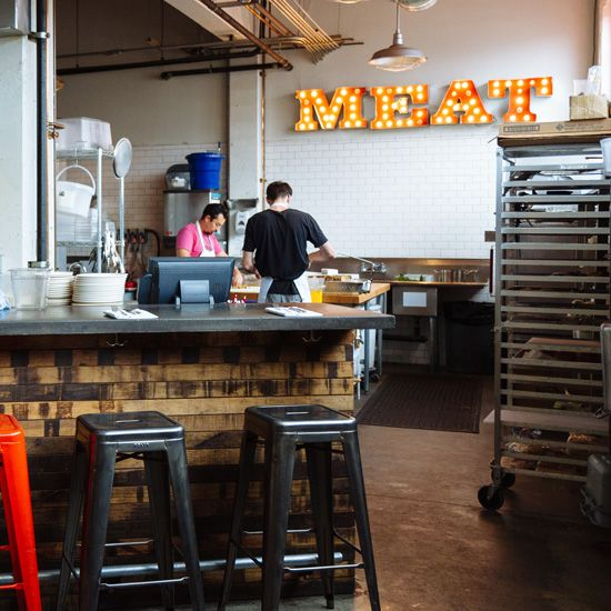 """""""Olympic Provisions."""" Olympic Provisions in Portland, Oregon focuses on the art and science behind charcuterie with extreme precision, quality, and flavor."""