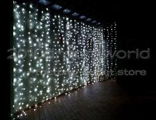 White 8M*4M,Led Curtain Light Christmas,Waterproof Controller,Factory Outlet