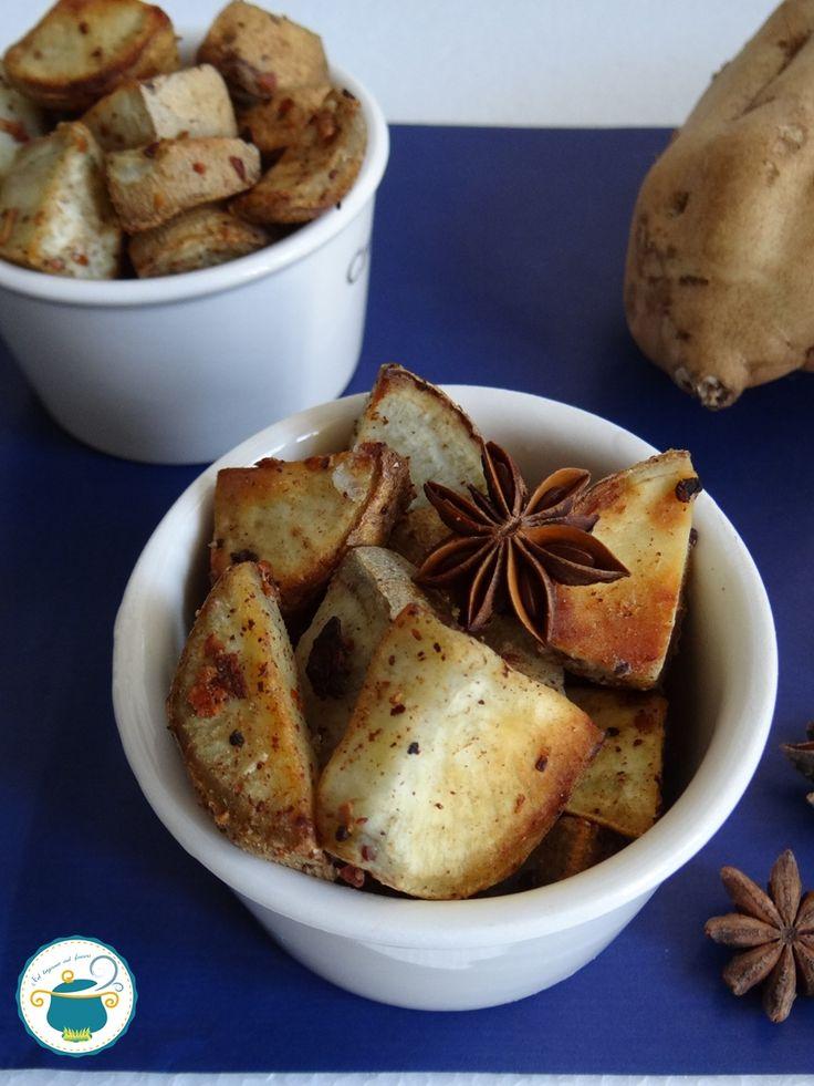 Patate dolci arrosto alle spezie e arancia