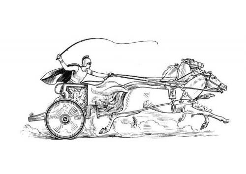 Romeinse Wagenrennen Geschiedenis De Romeinen Pinterest