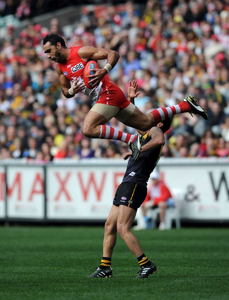 A Lap Of Honour For Sydney Swans Legend Adam Goodes