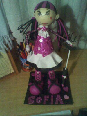 Fofucha Monster High Draculaura