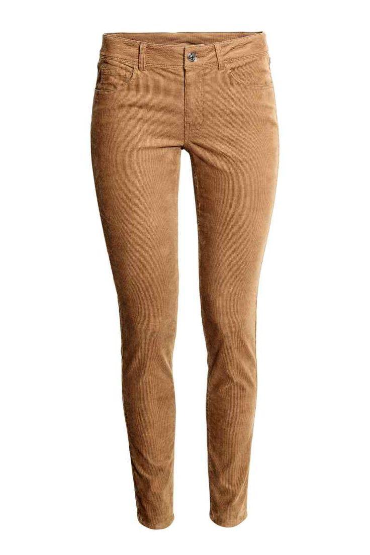 Spodnie sztruksowe | H&M