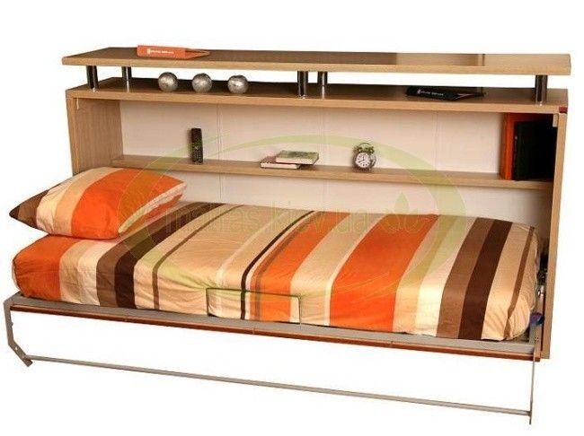 Комод-шкаф кровать с матрасом 90х200 см