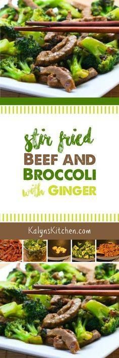 Stir-Fried Beef and Stir-Fried Beef and Broccoli with Ginger and...  Stir-Fried Beef and Stir-Fried Beef and Broccoli with Ginger and Ponzu Sauce is a low-glycemic stir-fry thats also dairy-free gluten-free and South Beach Diet Phase Two. [found on KalynsKitchen.com] Recipe : http://ift.tt/1hGiZgA And @ItsNutella  http://ift.tt/2v8iUYW