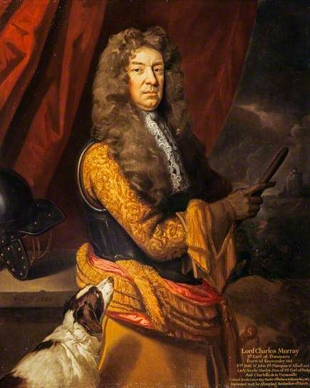 Lord Charles Murray, 1st Earl of Dunmore (1661 - 1710) / By Kneller, 1683.