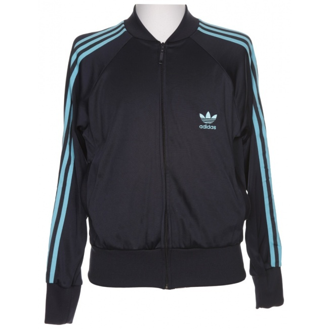 Navy Adidas Track Suit Jacket