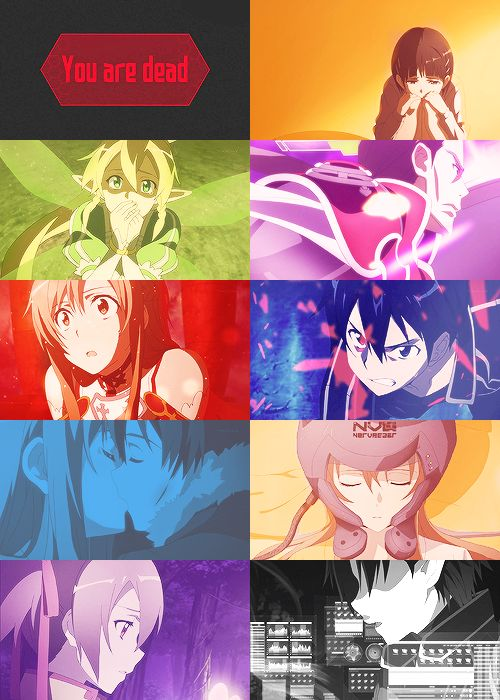 Sword Art Online.... I cried so much!!!