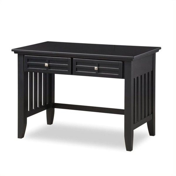 Home Styles Arts & Crafts Student Desk ($262) ❤ liked on Polyvore featuring home, children's room, children's furniture and black