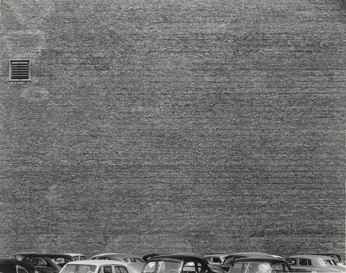 Harry Callahan. Chicago. 1948  love this wall