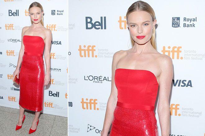 Kate Bosworth veste Boss al Toronto International Film Festival