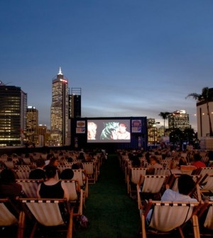 Rooftop movie nights in Jozi.