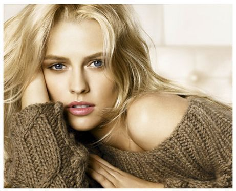 Teresa Palmer. I like this tint and overall style of color with isolation on the lips and eyes.