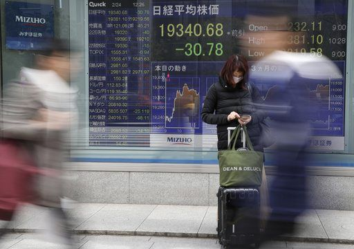 TOKYO/February 24, 2017 (AP)(STL.News) — Global stocks fell Friday amid worries about the potential impact of U.S. trade policies and as investors became more cautious about the market's recent rally.    KEEPING SCORE: France's CAC 40 slumped 1.4 p...